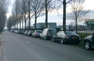 Genoeg parkeerruimte bij de Bruine Klauwier, Netterdensche Broek,Oude IJsselstreek, 19 januari 2014, foto ©Remco Wester